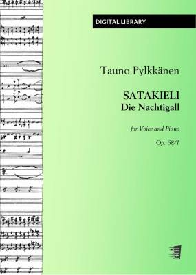 Satakieli / Die Nachtigall op. 68/1 - Voice/piano (PDF)