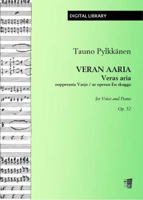 Veran aaria oopperasta Varjo / Veras aria ur operan En skugga op. 52 - Voice/piano (PDF)