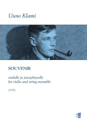 Souvenir for violin and string ensemble - Score & parts (solo, 33221)