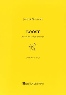 Boost for cello and analogue synthesizer - Playing score