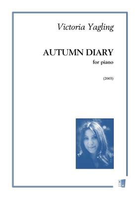 Autumn Diary - Piano