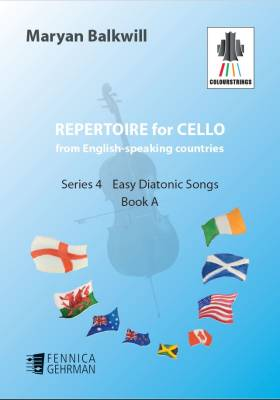 Repertoire for Cello from English-speaking countries: Easy Diatonic Songs (bk A)