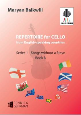 Repertoire for Cello from English-speaking countries: Songs without a stave (bk B)