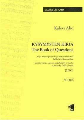Kysymysten kirja (The Book of Questions) - score