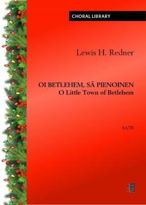 Oi Betlehem, sä pienoinen (O Little Town of Betlehem) (PDF)