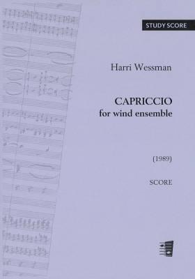 Capriccio for wind ensemble - Score & parts