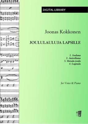 Joululauluja lapsille - Voice/piano (PDF)