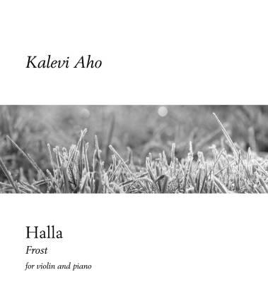 Halla (Frost) for violin and piano