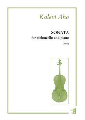 Sonata for violoncello and piano - Cello/piano