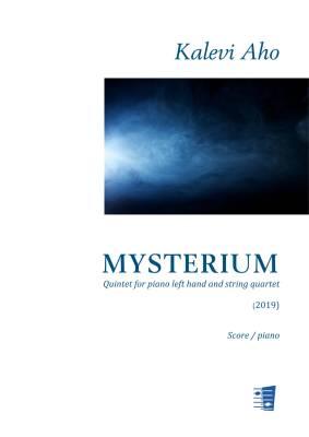 Mysterium - Quintet for piano left hand and string quartet - Score/piano & string parts