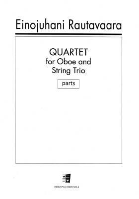 Quartet for Oboe and String Trio - Parts
