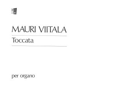 Toccata for organ