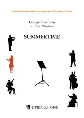 Summertime - flexible instrumentation arrangement for salon orchestra (PDF)