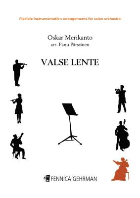 Valse lente - flexible instrumentation arrangement for salon orchestra (PDF)