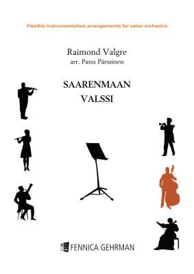 Saarenmaan valssi - flexible instrumentation arrangement for salon orchestra (PDF)