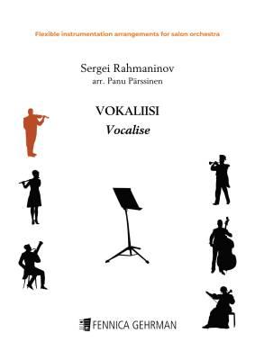 Vocalise - flexible instrumentation arrangement for salon orchestra (PDF)