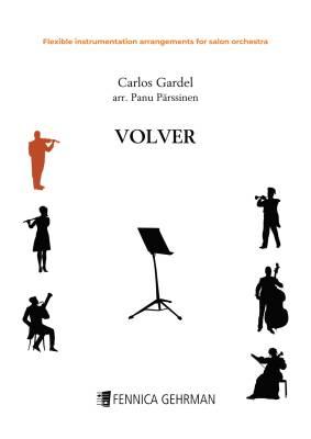 Volver - flexible instrumentation arrangement for salon orchestra (PDF)