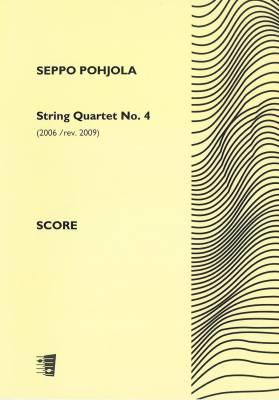 String Quartet No. 4 - Score and parts