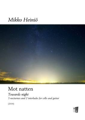 Mot natten / Towards night - Score and parts
