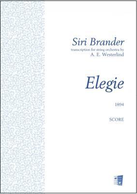 Elegie - Score & parts