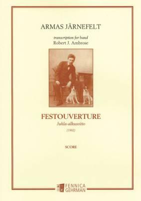 Juhla-alkusoitto : Festouverture : large score  (1902)
