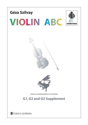 Colourstrings Violin ABC: Piano accompaniments for the books G1, G2 & G2 supplement