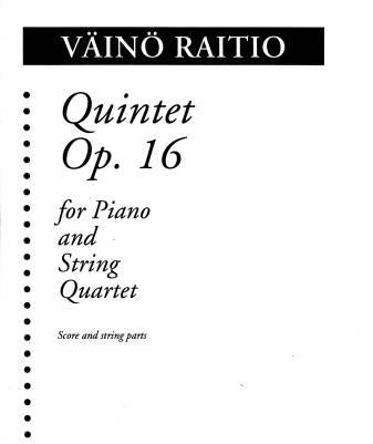 Quintet op. 16 for piano and string quartet - Score & parts