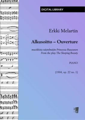 Alkusoitto musiikista näytelmään Prinsessa Ruusunen - piano (PDF)