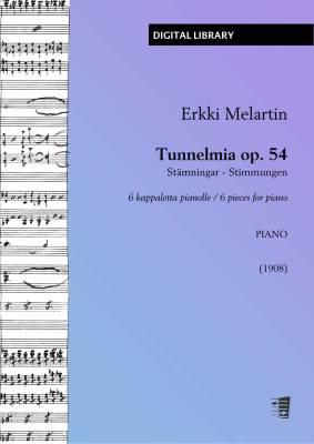 Tunnelmia (Stimmungen / Stämningar) op. 54 - Piano