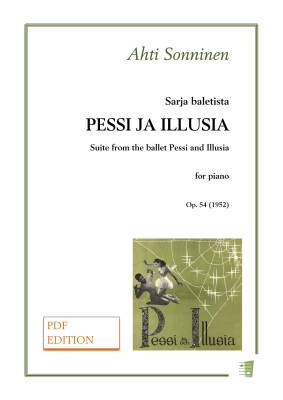 Suite from the ballet Pessi and Illusia - Piano (PDF)