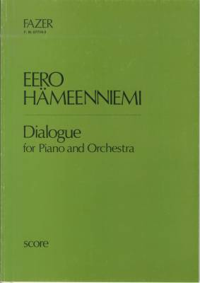 Dialogue for piano and orchestra - Score