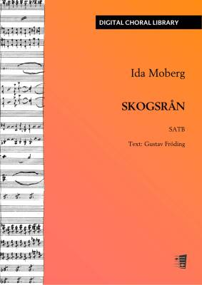 Skogsrån - SATB (PDF)