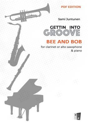Bee and Bob - clarinet or alto saxophone & piano (PDF)