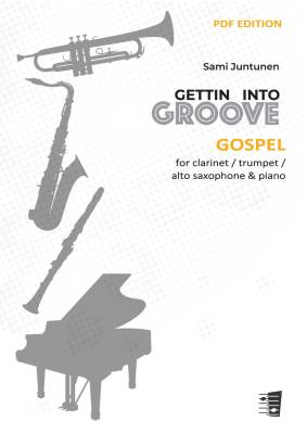 Gospel - clarinet / alto saxophone / trumpet & piano (PDF)