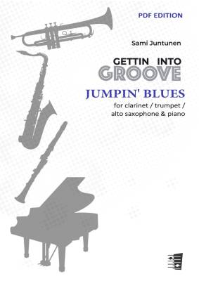Jumpin' Blues - clarinet / alto saxophone / trumpet & piano (PDF)