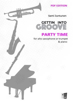 Party Time - trumpet or alto saxophone & piano (PDF)