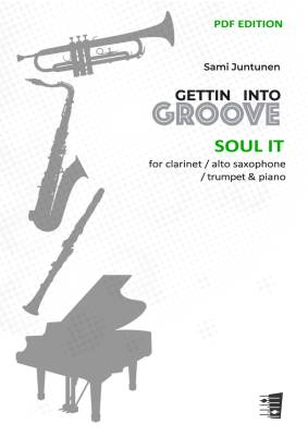 Soul It - clarinet / alto saxophone / trumpet & piano (PDF)