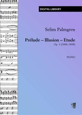 Prélude - Illusion - Etude op. 1 - piano (PDF)