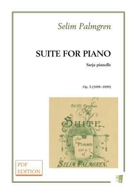 Suite for piano op. 3 (PDF)