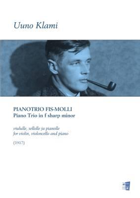 Piano trio in f sharp minor for violin, violoncello and piano - Score (piano) & parts