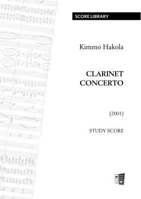 Clarinet Concerto - Study score