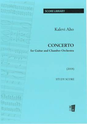 Concerto for guitar and chamber orchestra - Full score