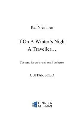 If on a Winter's Night a Traveller... - Solo guitar part