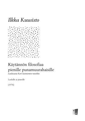Käytännön filosofiaa pienille punamuurahaisille - Voice & piano