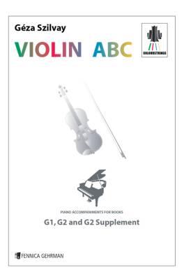 Colourstrings Violin ABC: Piano Accompaniments for G1, G2, G2 suppl. (epub)