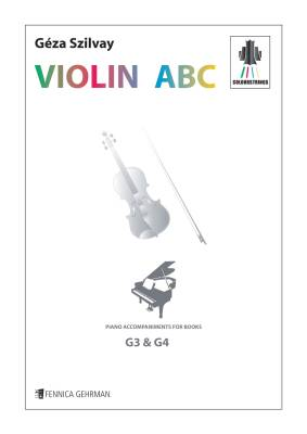 Colourstrings Violin ABC: Piano accompaniments for the books G3 & G4