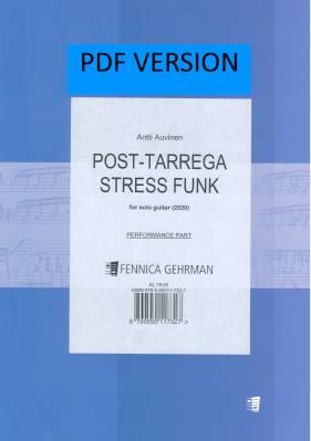 Post-Tarrega Stress Funk (2020) : guitar (pdf)