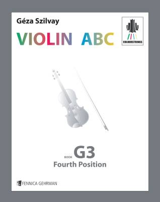 Colourstrings Violin ABC: Book G3 -Fourth position