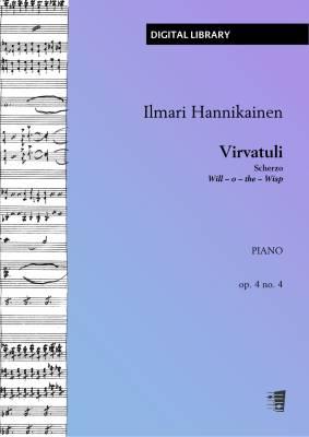 Virvatuli (Scherzo) - Piano (PDF)
