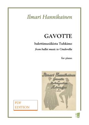 Gavotte from music the the ballet Cinderella - Piano (PDF)